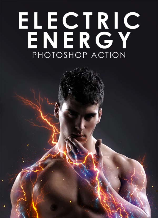 Electric Energy Photoshop, ATN Action