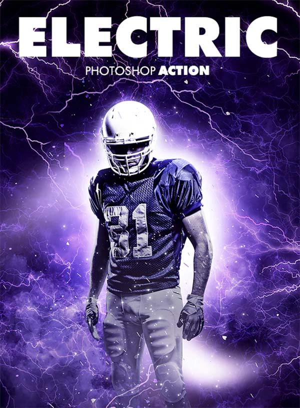 Electric Photoshop Actions