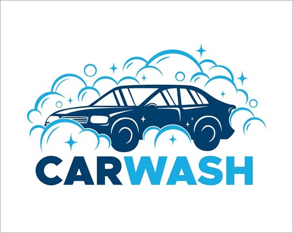 Free Car Clean Logo Template