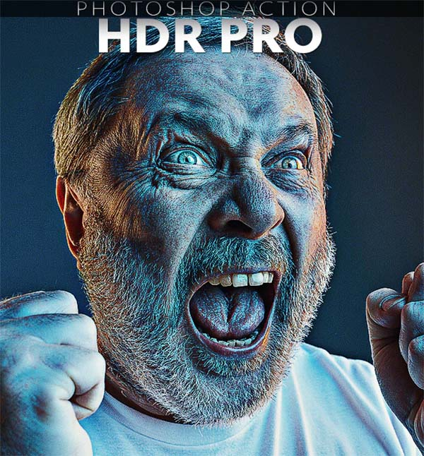 HDR PRO Photoshop Actions
