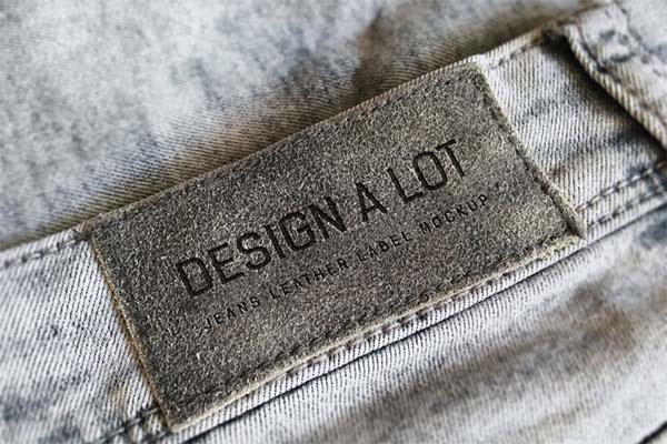 Jeans and Pants Label Mockups