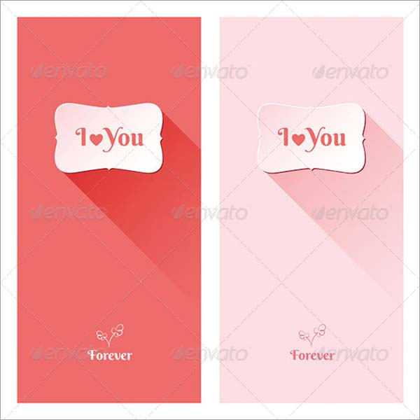 Love Greeting Cards Template