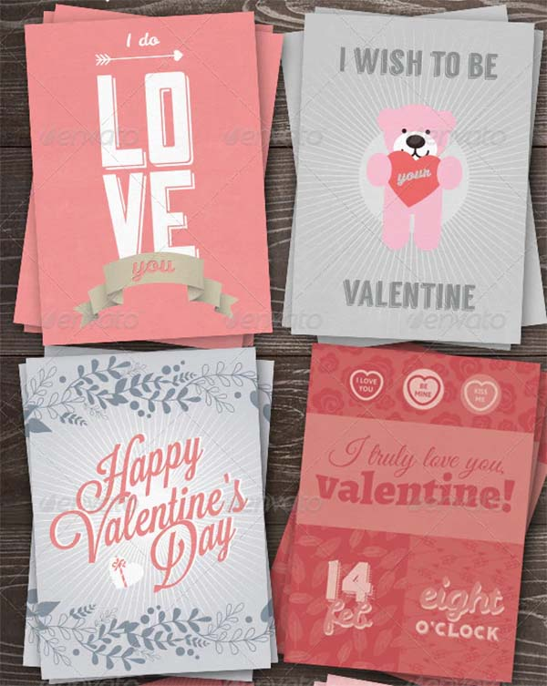 Love You Greeting Card Pack
