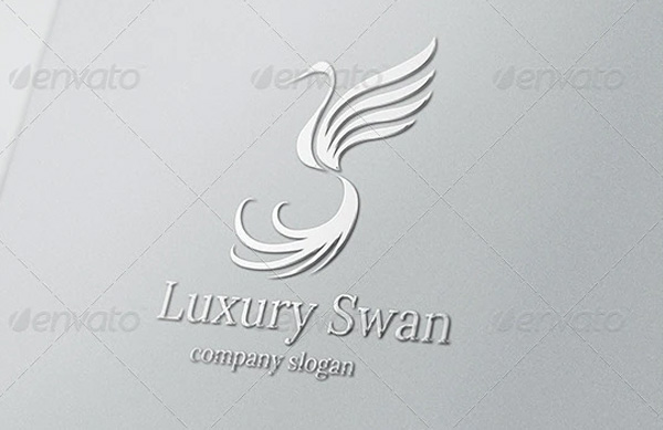 Luxury Swan Logo