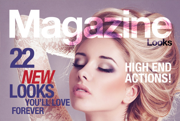 Magazine Studion Looks Action