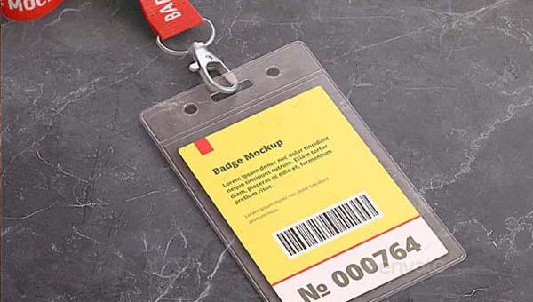 Name Badge Mockups