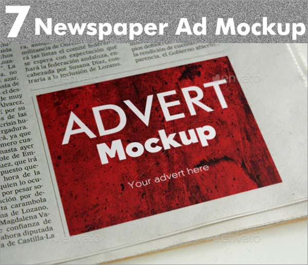 Newspaper AD Mockups