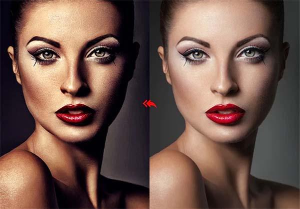 HDR Photoshop Portrait Actions