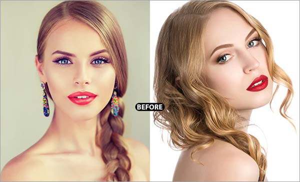 Professional Red Retouch Lightroom Preset