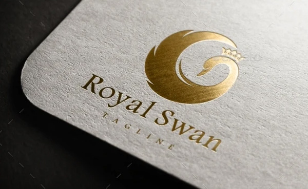 Royal Swan Logo Designs