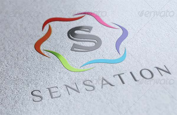 Sensation Clean Logo Design