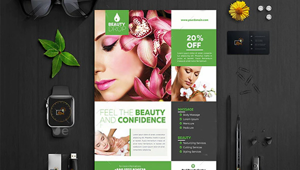 Skin Care Flyer Templates