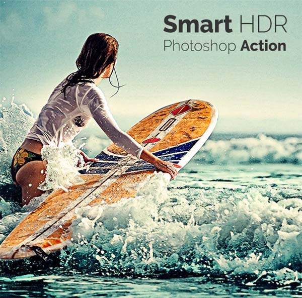 HDR Photoshop Smart Actions