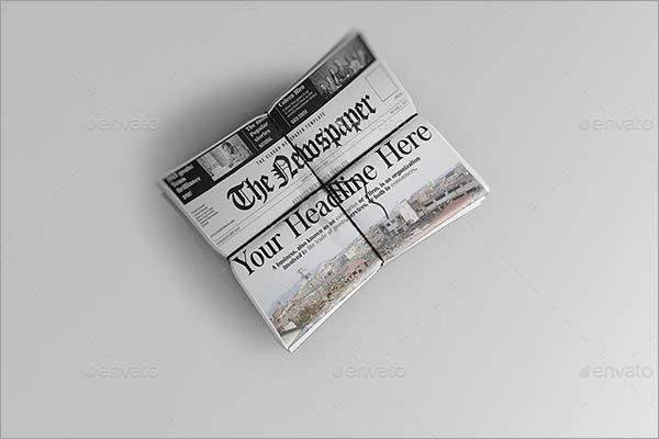 Smart Newspaper Mockups