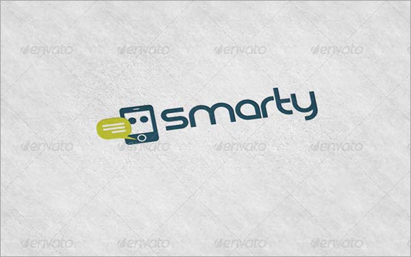 Smarty Clean Logo Design