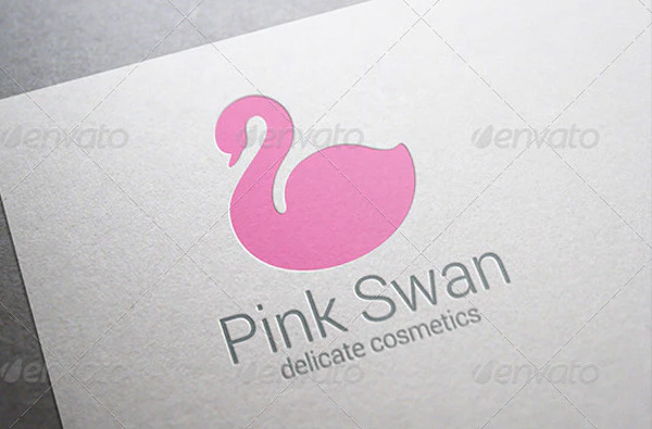 Swan Abstract Logo Template