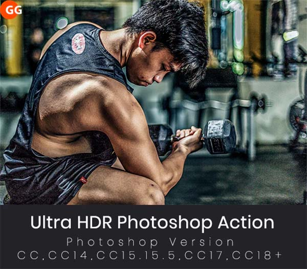 Ultra HDR Photoshop Action