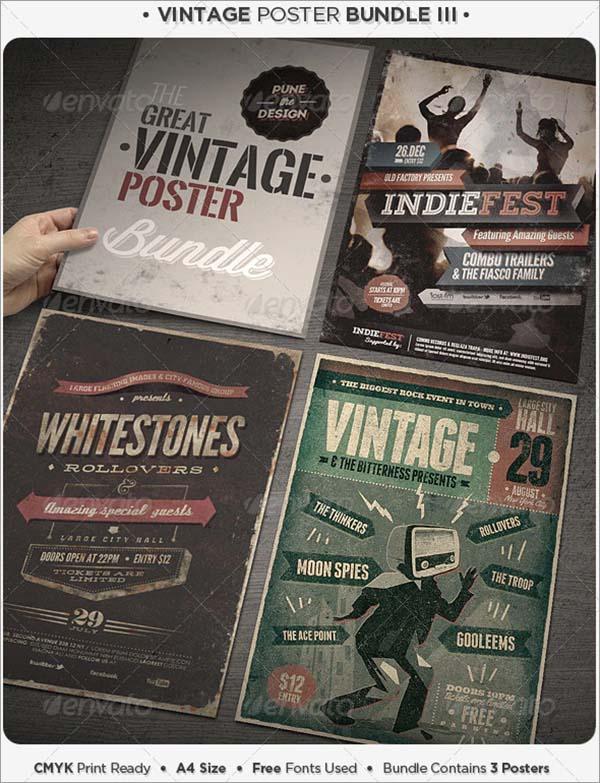 Vintage Poster Bundle