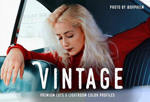 Vintage Premium Studio Photoshop Action