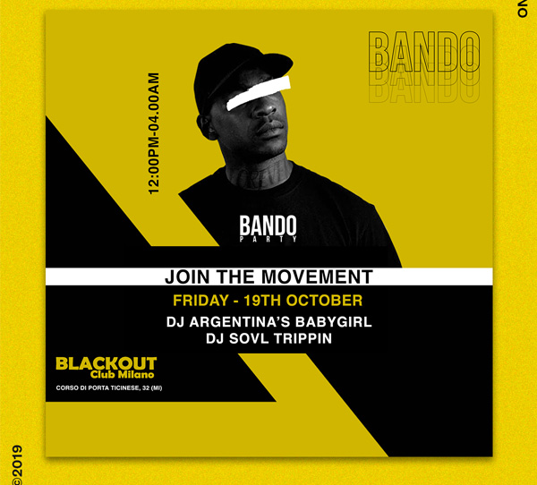 Bando Party Flyer Template