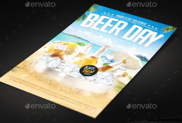 Beer Day Flyer Templates