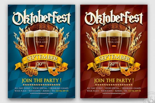 Best Beer Party Flyer Template