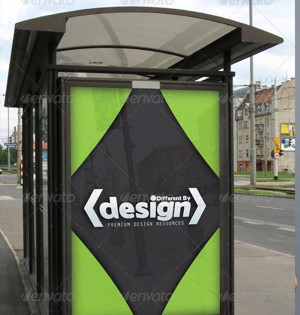 Best Bus Stop Mockups