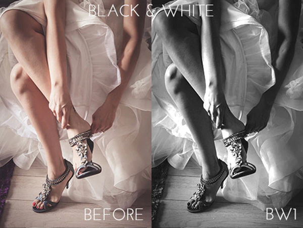 Black and White Best Photoshop Actions