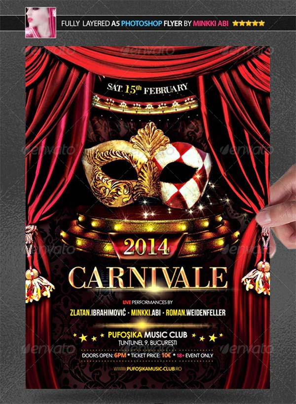 Carnival 2014 Poster and Flyer Template