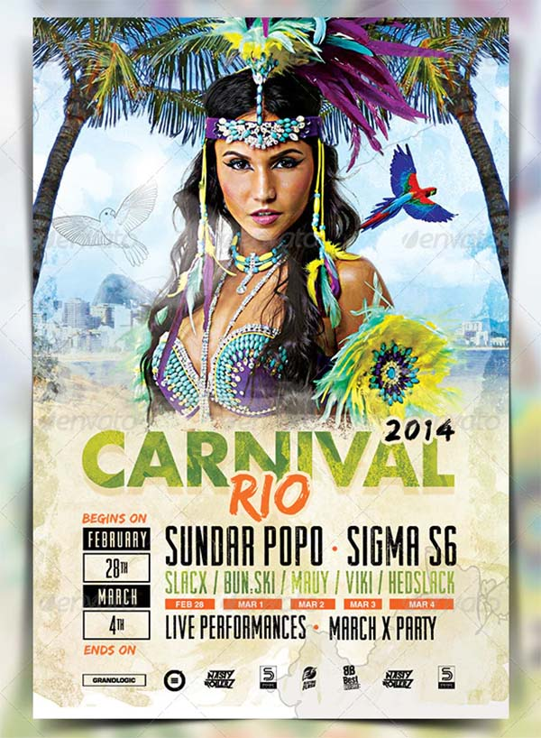 Carnival Flyer and Poster Template