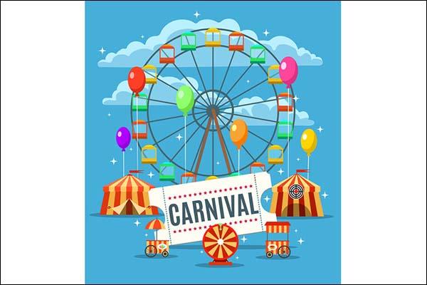 Carnival Fun Park Poster Template