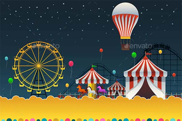 Carnival Night Poster Template