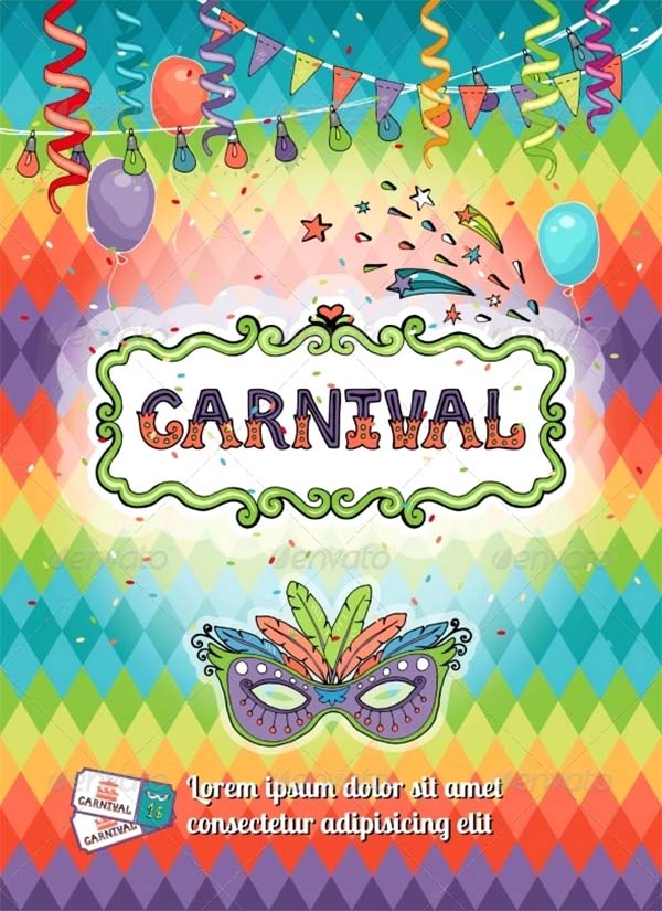 Carnival Poster Design Templates