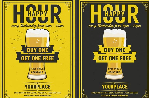 Download Beer Party Flyer Template