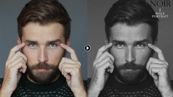 Film B&W Photoshop Actions