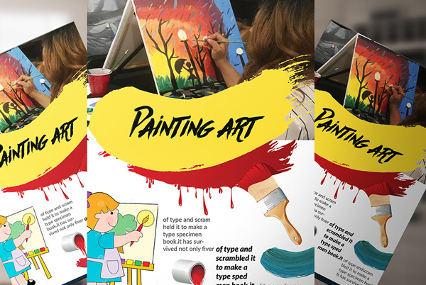 Free Paint Flyer Templates