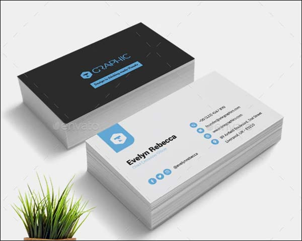 Minimalist Brand Business Card Template