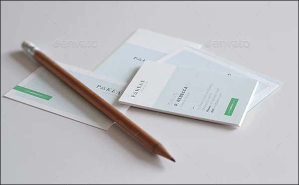 Minimalist Business Card Print Template
