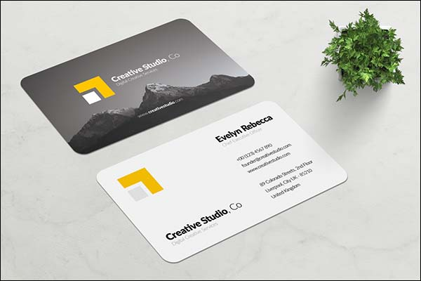 Minimalist Business Design Card