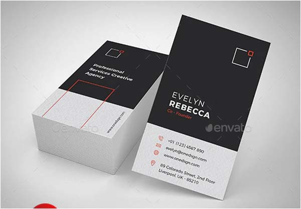 Minimalist Business Illustrator Card Template