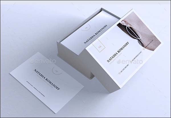 Minimalist Business Photoshop Card