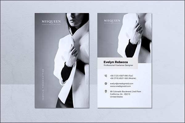 Minimalist Business Print Card