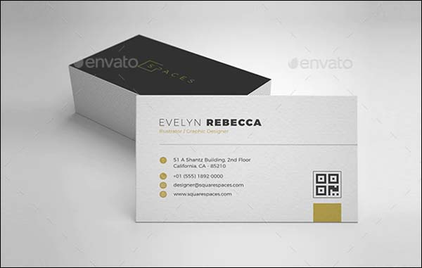 Minimalist Luxury Business Card Template