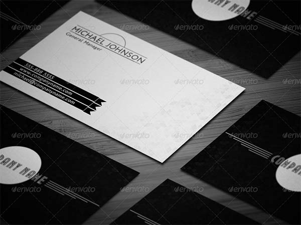 Mnmlst Classic Minimalist Business Card
