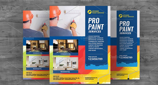 Paint Services Flyer