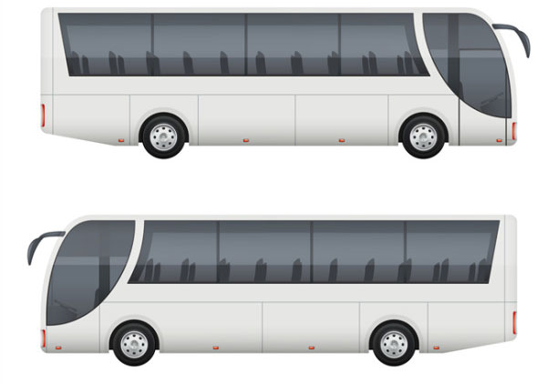 Travel Bus Mockup